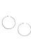 Gorjana Taner XL Hammered Hoop Earrings Thumb 1