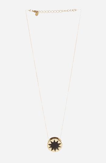 House of Harlow 1960 Mini Sunburst Pendant Necklace Slide 1