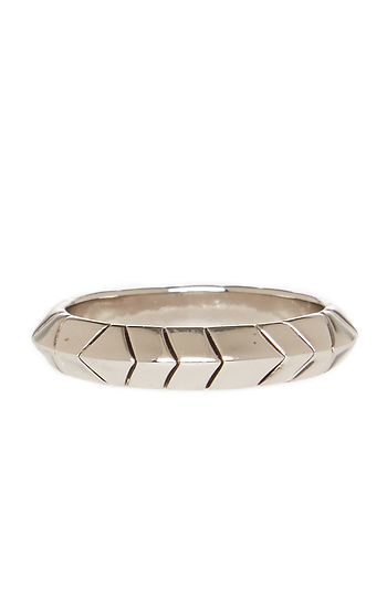 House of Harlow 1960 Aztec Thin Stack Ring Slide 1