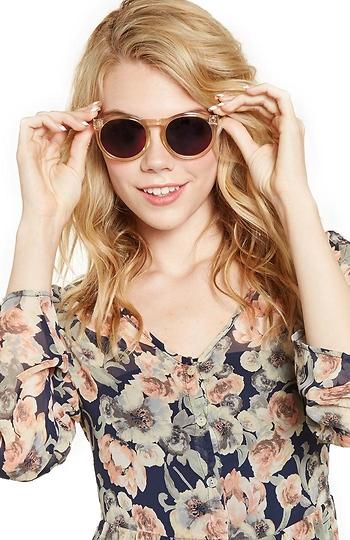 Le Specs Cheshire Sunglasses Slide 1