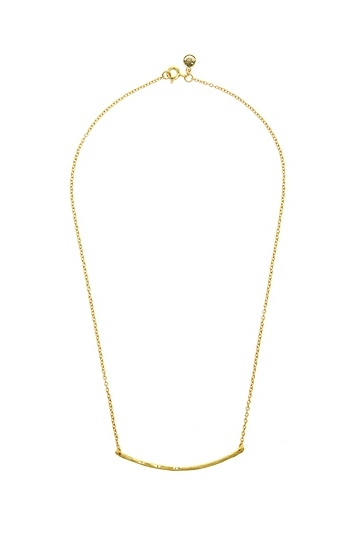 Gorjana Taner Bar Small Necklace Slide 1