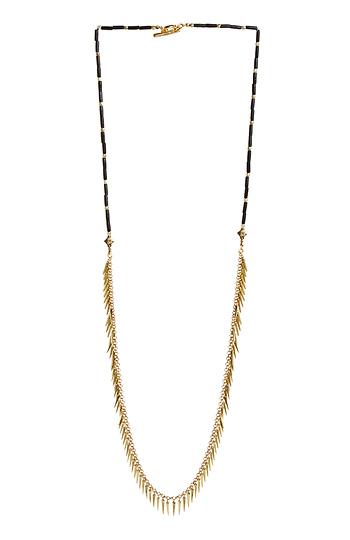 Jenny Bird Palm Rope Necklace Slide 1