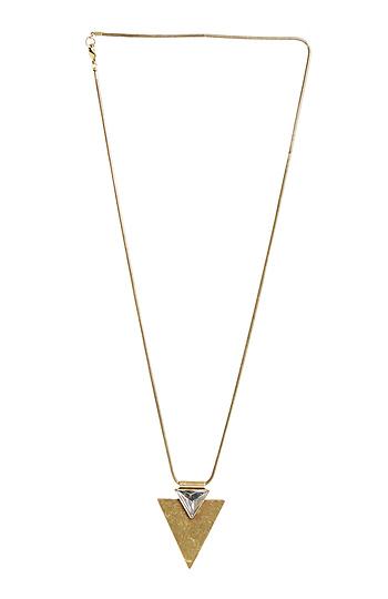 Jenny Bird Shield of Glory Pendant Necklace Slide 1