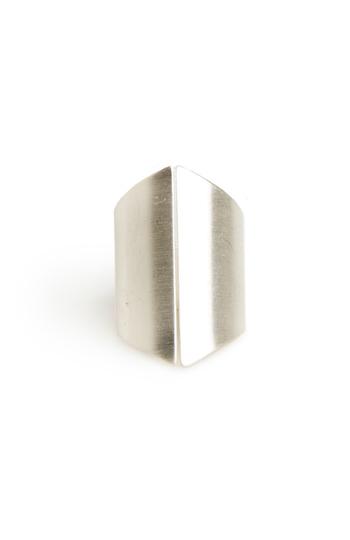 DAILYLOOK Matte Shield Ring Slide 1