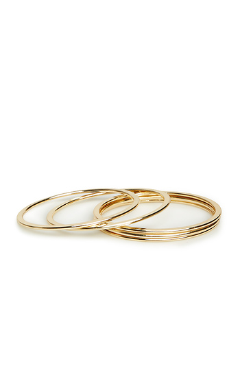 DAILYLOOK Everyday Bangle Bracelet Set Slide 1