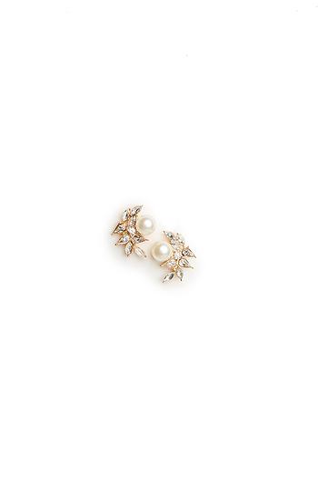 DAILYLOOK Pearl & Stone Branch Earrings Slide 1