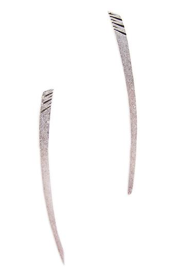 Jenny Bird Long Horn Tusk Earrings Slide 1