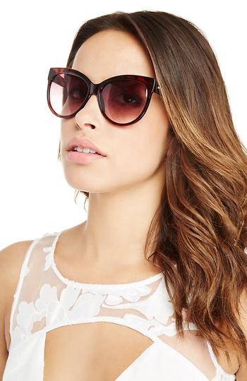 MINKPINK El Loco Sunglasses Slide 1