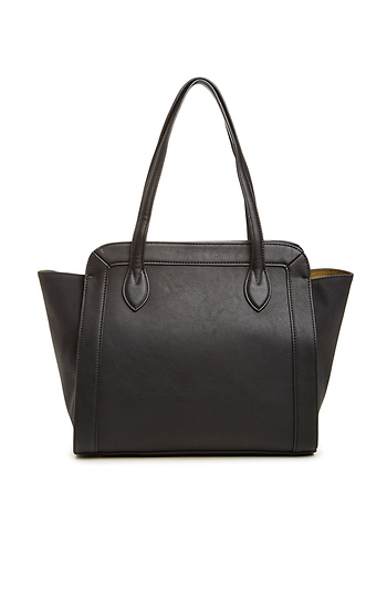 Vegan Leather Luxe Tote Slide 1