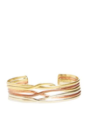Natalie B Rail Twist Bracelet Slide 1