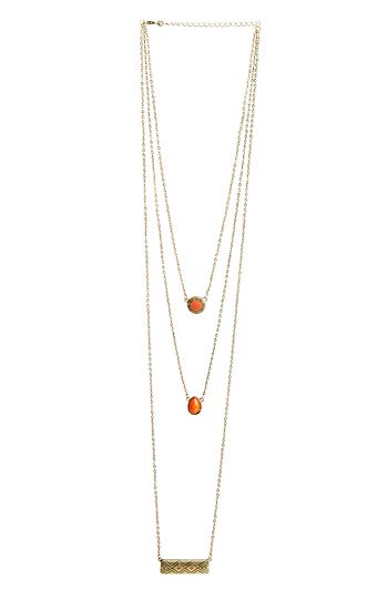 DAILYLOOK Sublime Tiered Pendant Necklace Slide 1