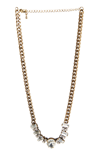 DAILYLOOK Claire Jeweled Statement Necklace Slide 1