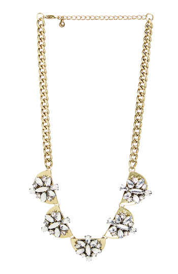 DAILYLOOK Harmony Stone Plated Necklace Slide 1