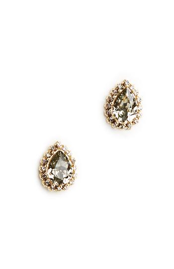 Prudence C Diamond Crystal Earrings Slide 1