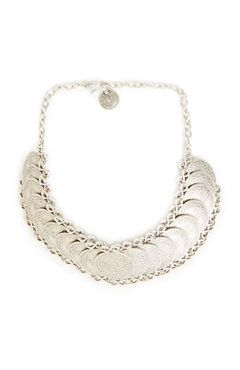 Chanour Choker Coin Necklace Slide 1