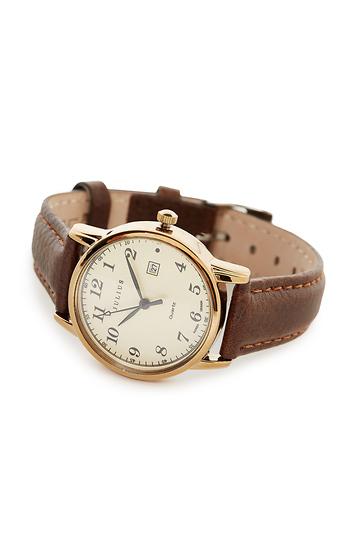 Harvey Classic Leather Watch Slide 1