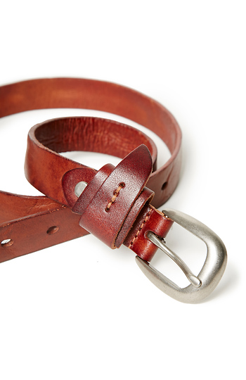 Bradley Leather Tie Knot Belt Slide 1