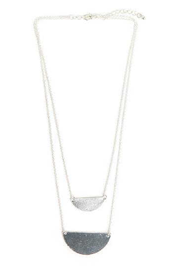 DAILYLOOK Half Moon Topanga Necklace Slide 1