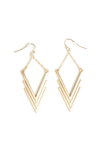 DAILYLOOK V-Nessa Layered Earrings Slide 1