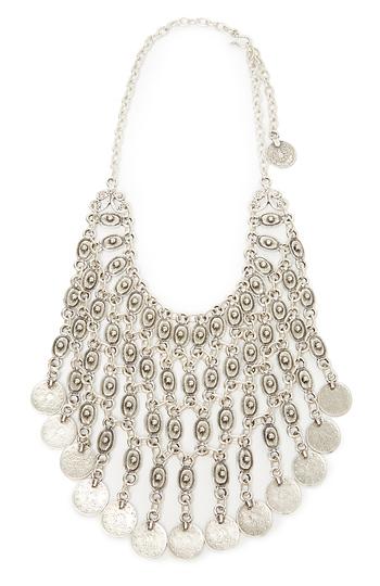 Chanour Long Dangling Collar Necklace Slide 1