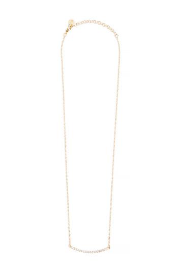 Gorjana Taner Pave Bar Necklace Slide 1