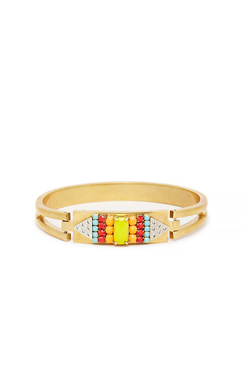 Sandy Hyun Vintage Crystal Bracelet Slide 1