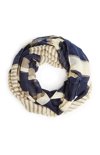 Sailor Stripe Infinity Scarf Slide 1