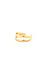 Double Band Midi Ring Thumb 2