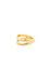 Double Band Midi Ring Thumb 3