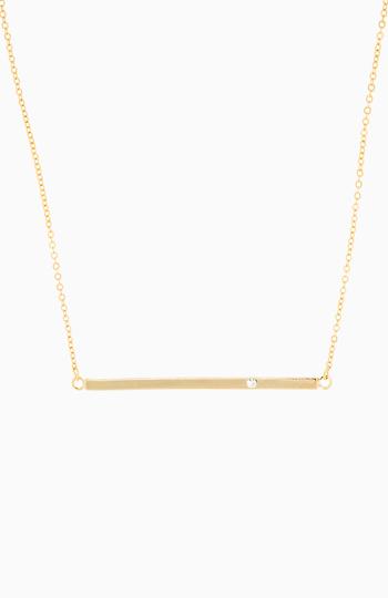Sparkling Bar Necklace Slide 1
