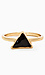 Black Abyss Triangle Ring Thumb 1