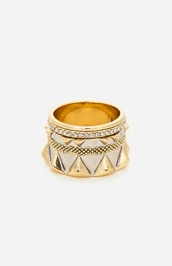 House of Harlow 1960 Conquistador's Crown Ring Slide 1