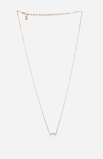 DAILYLOOK Faceted Crystal Pendant Necklace Slide 1