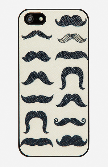 Many Mustaches iPhone 5/5S Case Slide 1