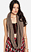 Sparkling Braided Knit Scarf Thumb 2