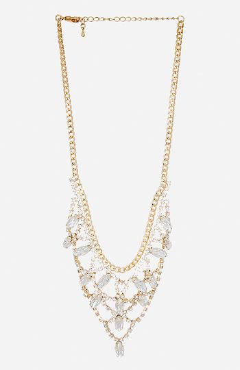 DAILYLOOK Crystal Chandelier Necklace Slide 1