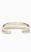 Sliced Cuff Bracelet Thumb 4