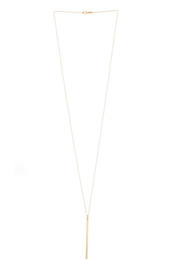 DAILYLOOK Single Bar Necklace Slide 1