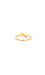Delicate Crystal Midi Ring Thumb 4