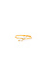 Delicate Crystal Midi Ring Thumb 1
