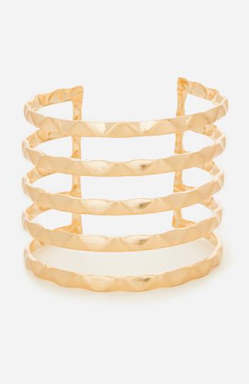 DAILYLOOK Stacked Cuff Bracelet Slide 1