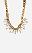 DAILYLOOK Antiqued Crystal Chain Necklace Thumb 2