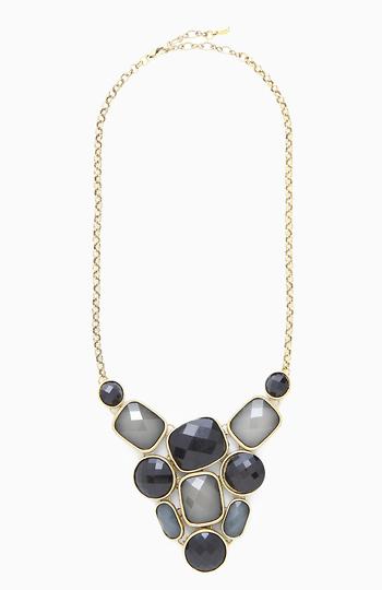 Symmetrical Stone Necklace Slide 1