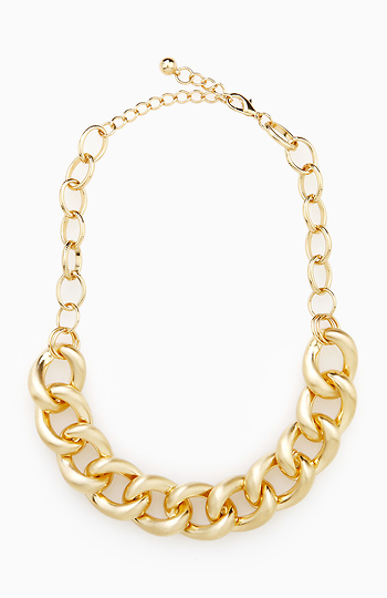 Matte Chain Necklace Slide 1