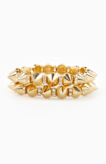 Spikes Galore Bracelet Set Slide 1