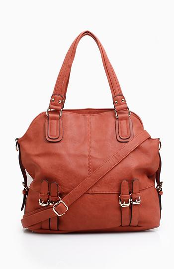 Twin Buckle Handbag Slide 1