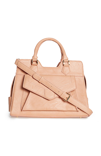 Cecile Caldwell Vegan Leather Satchel Slide 1
