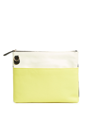 Two-in-One Color Blocked Clutch Slide 1