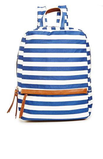 Thick Stripe Backpack Slide 1