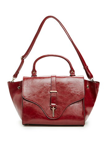 Tyler Durden Winged Vegan Leather Tote Slide 1